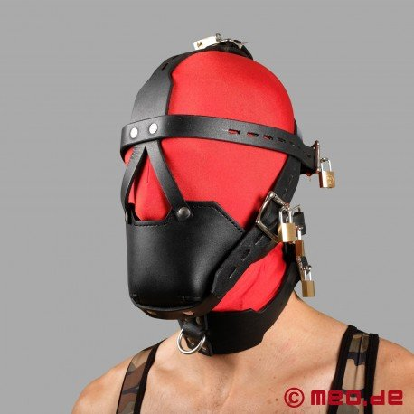 Head Harness Muzzle with Locking Buckles