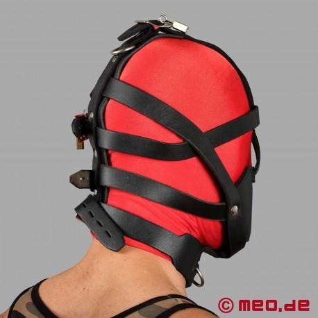 Imbracatura per la testa bloccabile con museruola