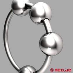Anneau de gland CAZZOMEO ® avec boules de stimulation