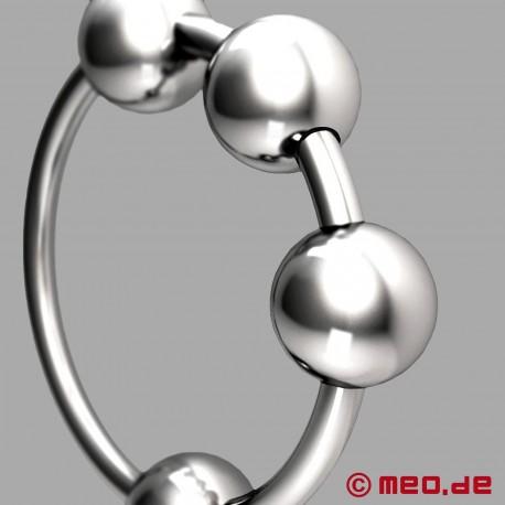 CAZZOMEO ® Anello per glande con sfere di stimolazione