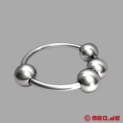 CAZZOMEO ® glans ring with stimulation balls