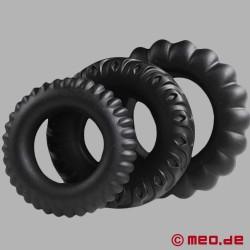 Maratona sessuale - 3 anelli per il pene di CAZZOMEO®
