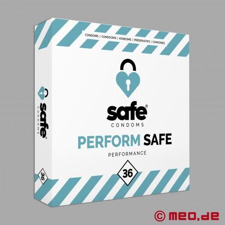 Safe - Performance Condoms - Box with 36 condoms