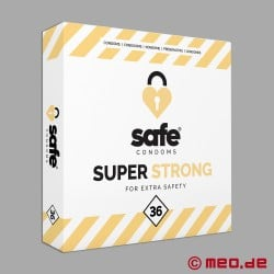 Safe - Super Strong Condoms - Box with 36 condoms