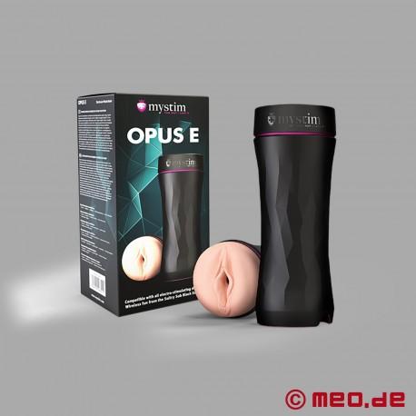 OPUS E - Versione Vaginale - Masturbatore con elettrostimolazione per uomo