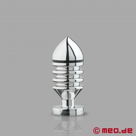 Plug anal E-Stim HECTOR HELIX - Butt plug pour électrostimulation