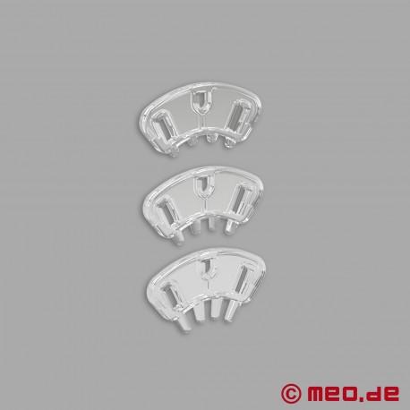 PUBIC ENEMY NO 3 - Cintura di castità E-Stim con spremiagrumi testicolo