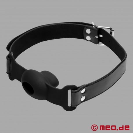 Mundknebel mit Öffnung - Bequemer Bondage Knebel