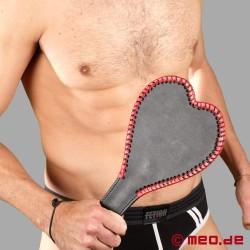 Paddle grande a forma di cuore per spanking e SM
