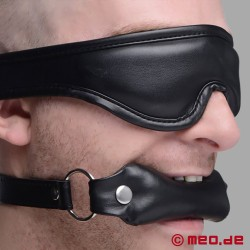 BDSM Set: Padded Blindfold and Gag