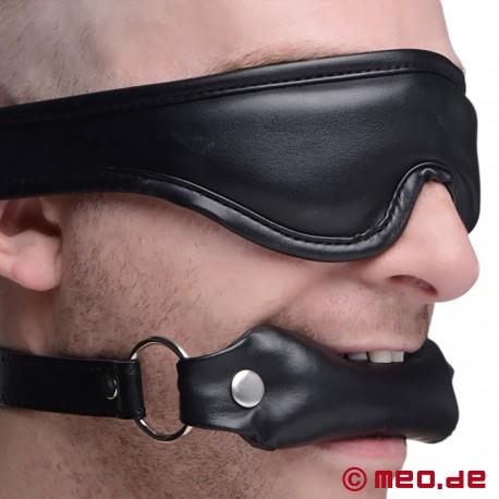 BDSM-Set: benda imbottita e bavaglio
