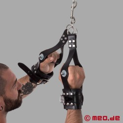 Handhängefesseln – BDSM Leder Suspension