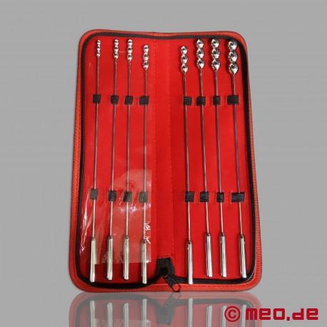 Set BDSM Dr. Sado con dilatatori (sonde uretrali) per la stimolazione uretrale