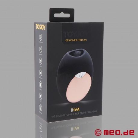 Vibrator mit Zunge – ToyJoy Diva Mini Tongue - Stimulator der leckt