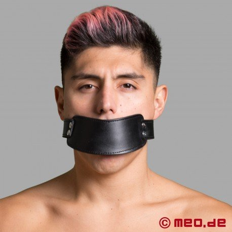 Leather Mouth Gag - Cock Gag