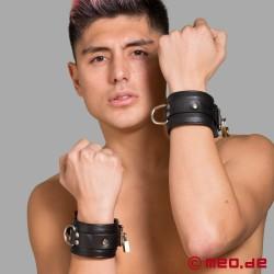 Lockable Leather Wrist Restraints