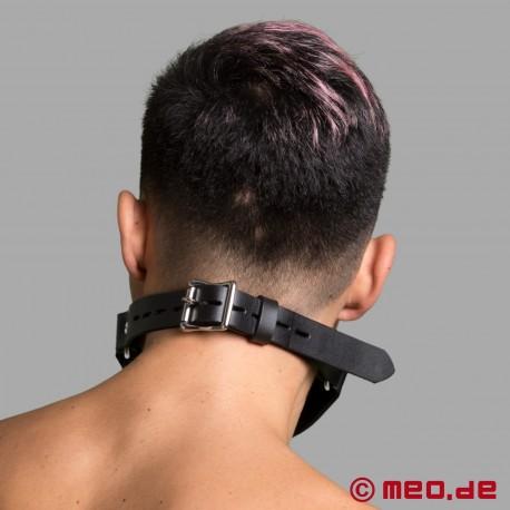 Lockable gag with tube - piss gag