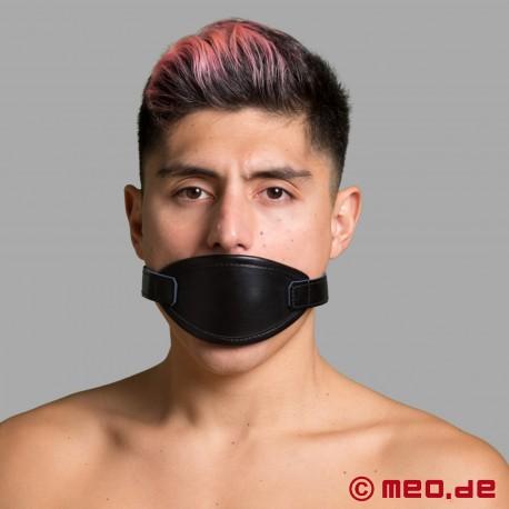 Masque buccal avec un bâillon à balle noire