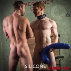 Crackstuffers Henry - Gode XXL en silicone