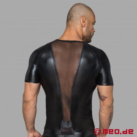 Camicia wetlook
