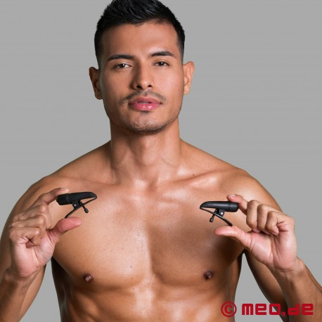 Nipple Twitterz! Vibrating Nipple Clamps