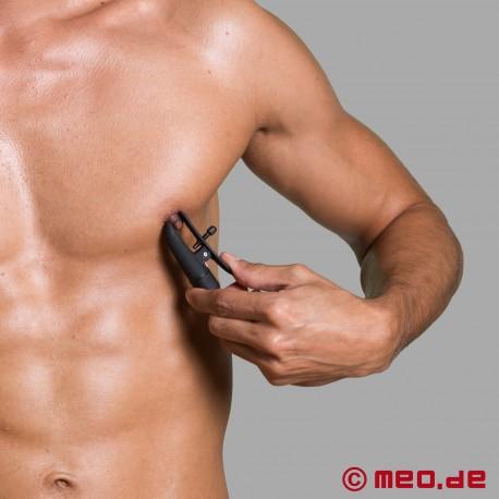 Pinces à seins vibrantes Nipple Twitterzz