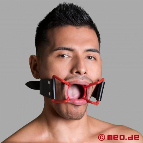 """Bavaglio """"bocca spalancata"""" - edizione limitata ROSSA"""