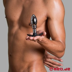 ANALGEDDON - The Stopper – Metal and Silicone Anal Plug