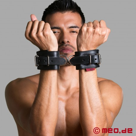 Leather Lined Wrist Restraints - MEO ® Vintage Edition