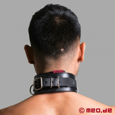 Bondage Halsband aus Leder