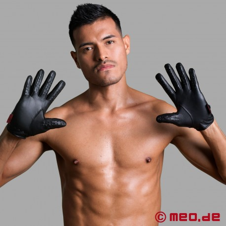 Spiked Slave Pleasure gloves from Dr. Sado