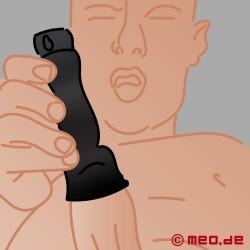 Vibromasseur de gland à sonde urétrale