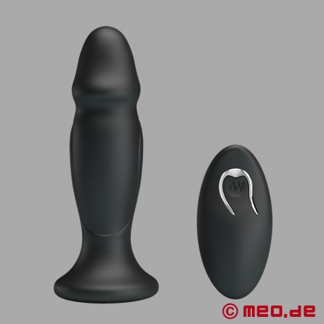 Plug anale vibrante con telecomando