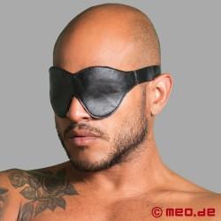 Maschera per gli occhi bondage in cuoio