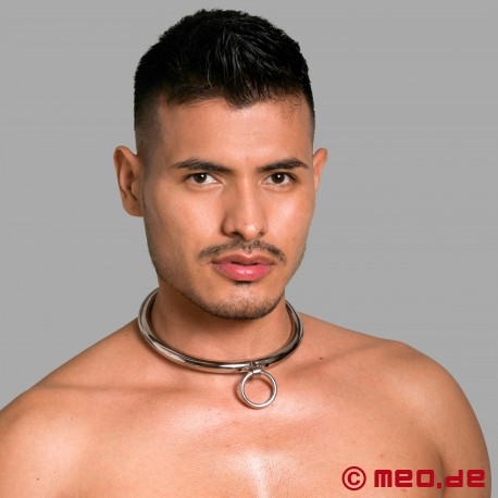 Collar with combination lock and O-ring
