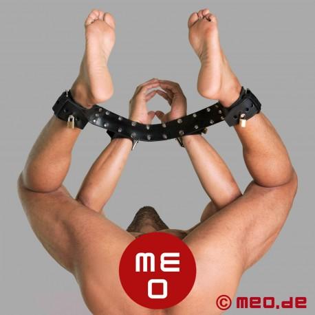 Entrave combinée pour poignets et chevilles