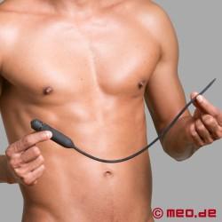 Vibratore lungo per l'uretra - Perdita di controllo per l'uomo