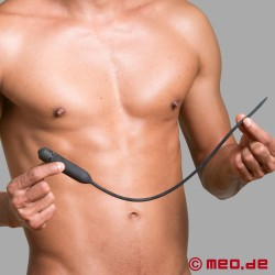 Long vibrating urethral vibrator - Loss of control for the man