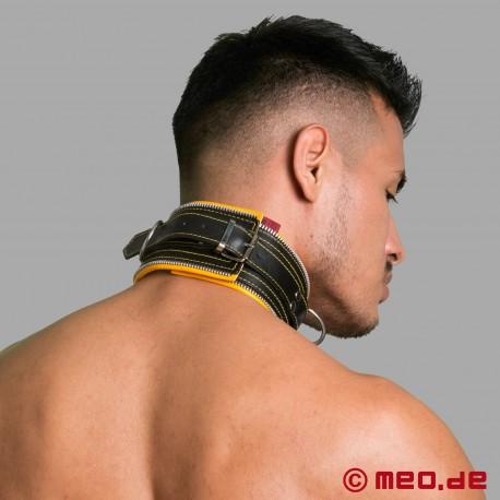 Collier de bondage Code Z noir/jaune