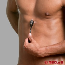 Dr. Sado Double Wartenberg Pinwheel in Black