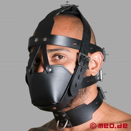 Harnais de tête verrouillable avec muselière