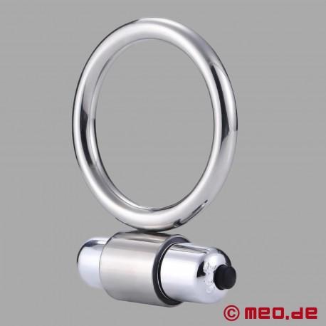 Anello del pene in metallo con vibrazione
