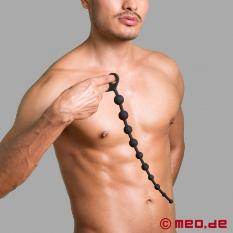 10 Bead Silicone Anal Chain