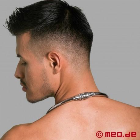 Bondage Halsband mit Zahlenschloss