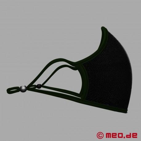 Größenverstellbare Design Maske mit austauschbarem Filter