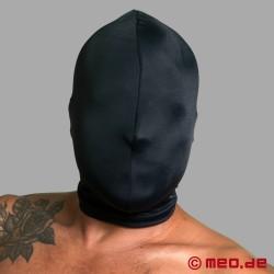 Fetish hood without openings - extra strong BDSM isolation mask