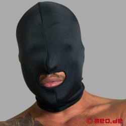 Spandex mask with mouth - extra strong