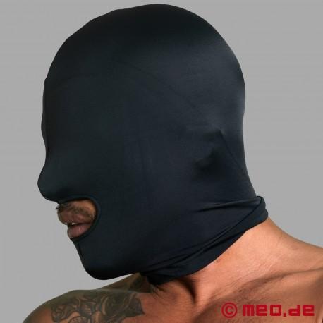 Maschera in spandex con apertura per bocca - extra forte