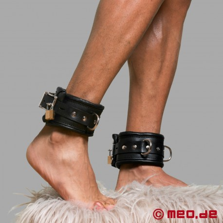Lockable Ankle Restraints BLACK BERLIN