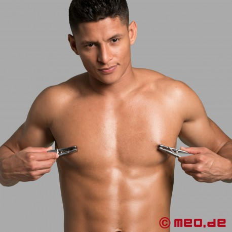 Heavy Steel Nipple Clamps - Stainless Steel Clothespins